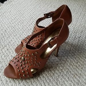 INC International Concepts Shoes - INC Studded Shootie/Heel